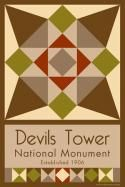 Devils Tower National Monument Quilt Block