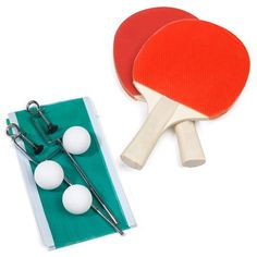 FunStart Table Tennis Set 2 Bats + 3 Balls + 1 Net