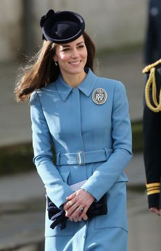 Kate Middleton Photos - Duchess of Cambridge Marks 75th Anniversary of RAF Air Cadets - Zimbio