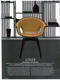 H.O.M.E. - GINGER, design Roberto Lazzeroni