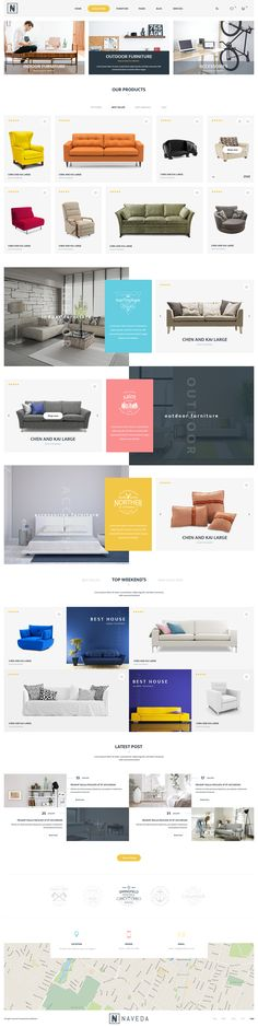 Naveda is the premium PSD template created with love for multipurpose eCommerce shop. It can be suitable for any kind of eCommerce shops thanks to its multi-functional layout. Naveda comes with the clean interface with clean and modern design style