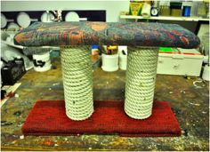 DIY: How To Make A Cat Scratching Post