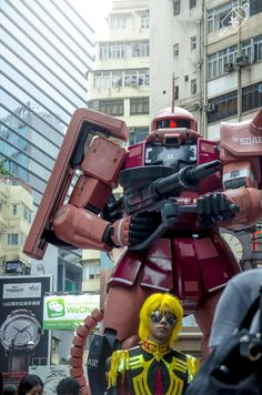 Hong Kong Robots by Starman Funk, via Behance