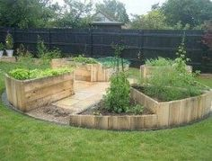 DIY Easy Access Raised Garden Bed | The Owner-Builder Network