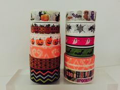 Halloween Washi Tape in 12 Patterns by GoatGirlMH on Etsy