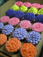 These look really pretty. If only i knew how to do this.(By Cupcakes a go-go Sarasota)