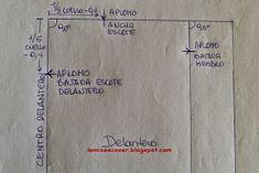 LO MIO ES COSER..... Y HACER PATRONES: Patrón Cuerpo Base Niña y Niño: Medidas Easy Sewing Patterns, Dress Patterns, Pattern Drafting, Textiles, Videos, Dresses, Pattern Making, Child Fashion, Modeling