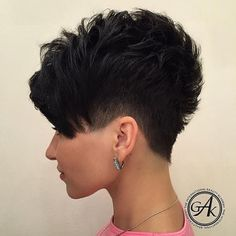want прича в 2019 г. cortes de cabello corto, cortes de pelo pixie и Cute Hairstyles For Short Hair, Short Hair Cuts For Women, Straight Hairstyles, Curly Hair Styles, Natural Hair Styles, Pixie Hairstyles, Ladies Hairstyles, Party Hairstyles, Short Cuts