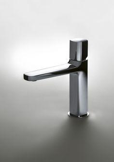 LAMÈ Mezclador de lavabo by Fantini Rubinetti diseño Matteo Thun & Partners