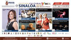 Cartelera del Festival Cultural Sinaloa 2016, Una Nueva Época, #Mocorito