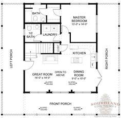 1,207 SF Log Home