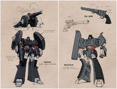 Megatron - Steampunk concept