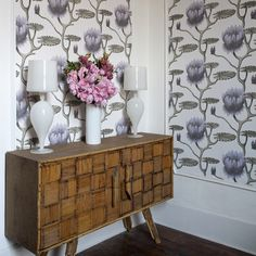 Summer Lily, Cole & Son wallpaper