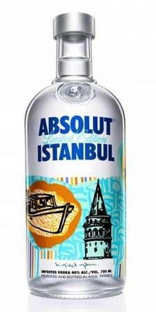 Absolut Vodka Instanbul Absolut Vodka Instanbul Limited Edition
