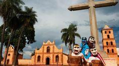 La région encore méconnue de Santa Cruz recèle des trésors cachés que laissa derrière elle la Compagnie de Jésus après son expulsion en 1767. Ici, la mission San José de Chiquitos.