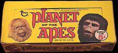 Retro fix–New book chronicles the complete Planet of the Apes trading card series | borg.com