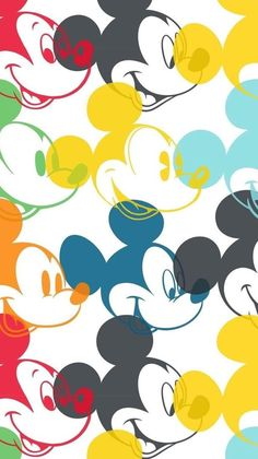 Mickey Mouse Wallpaper Iphone, Disney Wallpaper, Cartoon Wallpaper, Iphone Wallpaper, Mickey Mouse Cartoon, Mickey Minnie Mouse, Mickey Mouse Background, Desenho Pop Art, Hello Kitty Coloring