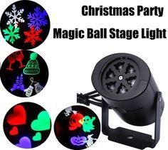 LED Stage Light Laser Projector Lamps Heart Snow Spider Bat Christmas Party Landscape Light Garden Lamp Outdoor Lighting