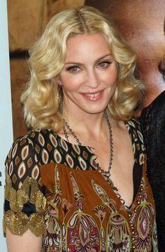Madonna is flashing great hair in this 2009 picture!
