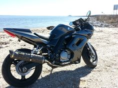 My SV (and a beach) Motorcycle, Beach, Vehicles, The Beach, Seaside, Biking, Car, Motorcycles, Motorbikes