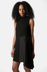 Photo 3 of High Neck Satin Swing Dress Sleeveless Swing Dress, High Neck Dress, Latest Colour, Gal Meets Glam, Nordstrom Dresses, Womens Fashion, Fashion Trends, Topshop, Satin