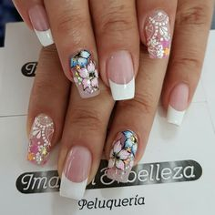 Just old school Sexy Nail Art, Sexy Nails, Toe Nails, Pink Nails, Fabulous Nails, Gorgeous Nails, Pretty Nails, Nails Only, Luxury Nails