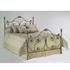 Fashion Bed Group Aynsley Full Bed in Majestique Finish Bed Frame And Headboard, Queen Headboard, Headboards For Beds, Iron Furniture, Bedroom Furniture, Leggett And Platt, Wrought Iron Beds, Full Bed Frame, Metal Beds