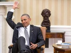 The moment President Barack Obama found out the Supreme court's ruling on Obama Care*