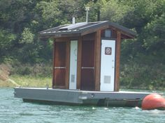 Outhouse on the lake! LOL