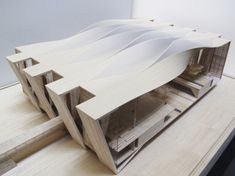 Sordo Madaleno & Pascall Watson Proposal for New Mexico City Airport (© Sordo Madaleno, model by Roberto Montalvo)