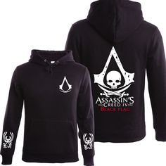 In 2017, the latest printing hoodies leisure hoodies assassins creed street assassins creed hoodie of man