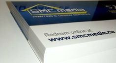 We design business cards in very attractive designs using bright colors and supreme grade paper.