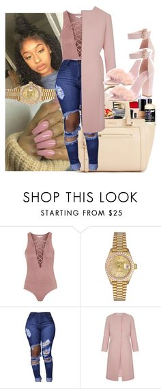 """Celine on yo kicks"" by daradior ❤ liked on Polyvore featuring Topshop and Rolex"