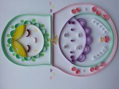 paper quilled matryoshka doll