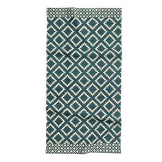 Patterned cotton rug (H&M)