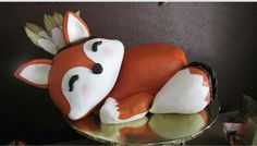 Fox Cake by Leia Heeter with The Cake Guys - Dallas, TX