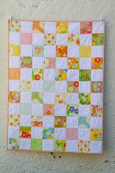 Spring Garden Baby Quilt