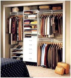 Image Detail for - Custom Closet Organizers | Home storage ideas