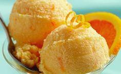 Παγωτό πορτοκάλι