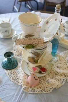 Alice in Wonderland Bridal Shower