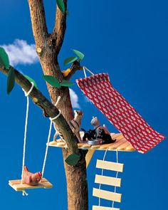 Yeah for popsicle stick crafts!  Will this work for my boys who want to build a fort outside in a tree?