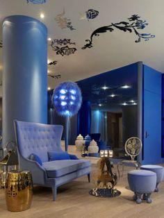 Interiors - Mondrian Hotel SoHo | #luxuryfurniture #interiordesign #bedroomsets #contemporaryfurniture