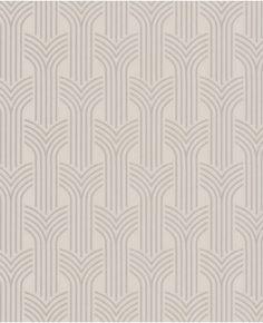 Grahm & Brown Art Deco:  Cinema - Cream wallpaper
