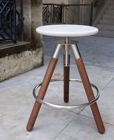 Youngsters Area Home Furnishings Stone Tripod Stool By Sobu