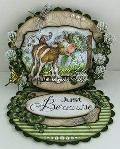 From My Craft Room: Just Be'cow'se - Magnolia-licious 'Backgrounds/Animals/Accessories'