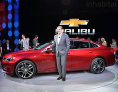Chevrolet unveils 2016 Malibu Hybrid at the New York Auto Show | Inhabitat - Sustainable Design Innovation, Eco Architecture, Green Building