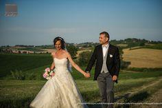Andrea & Fabienne - Wedding la Commedia della Pentola - colline del Basso Monferrato - Piemonte - Italia.