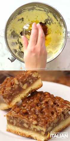 Ever Pecan Pie Bars - Recipes -Best Ever Pecan Pie Bars - Recipes - 氷を活用!チョコカップで作るミニデザート A creamy, tangy, luscious, and SUPER easy take on vodka pasta - and vegan! Made with just a handful of pantry ingredients in 15 minutes. Cheesecake Recipes, Pie Recipes, Vodka Pasta, Southern Pecan Pie, Pecan Pie Bars, Shortbread Crust, Homemade Chocolate, Chocolate Croissants, Baking
