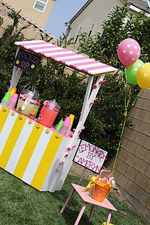 #Lemonade Stand, #Lemonade, #Lemonade Party