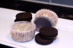 cookies and cream cheesecakes by kae71463, via Flickr